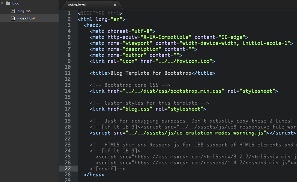 Sublime Text から Adobe Brackets に浮気してみた
